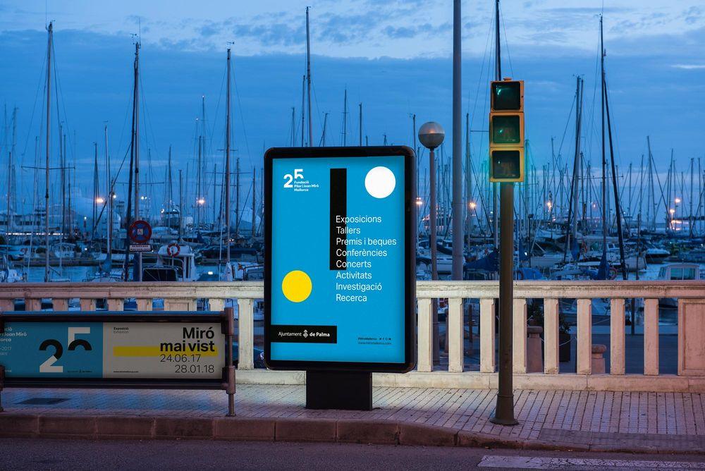 25th anniversary Miró Mallorca Fundació (art direction, graphic design, identity, art & culture, public sector, print), by DOMO-A |Art direction & graphic design, Barcelona