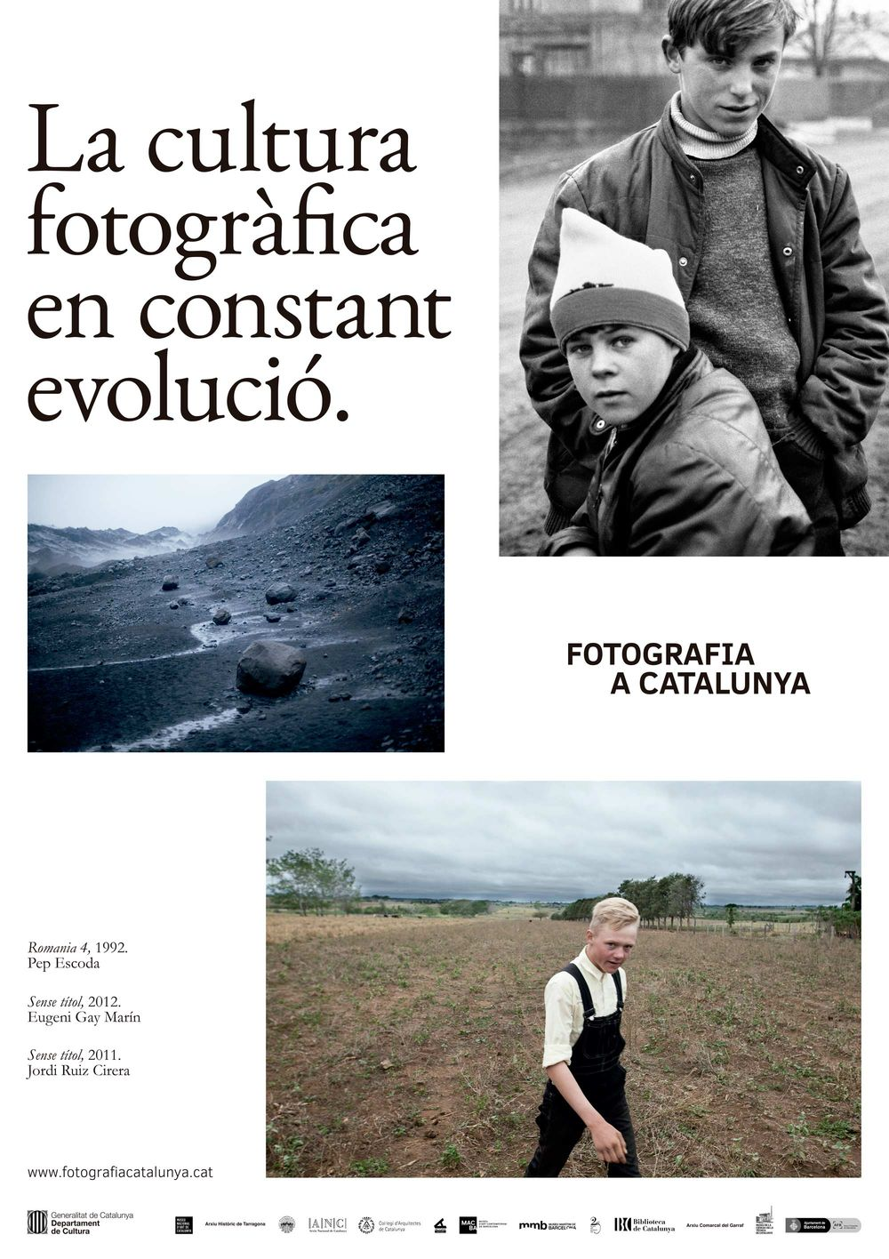 Fotografia a Catalunya (art direction, graphic design, art & culture, public sector, website), by DOMO-A | Art direction & graphic design, Barcelona