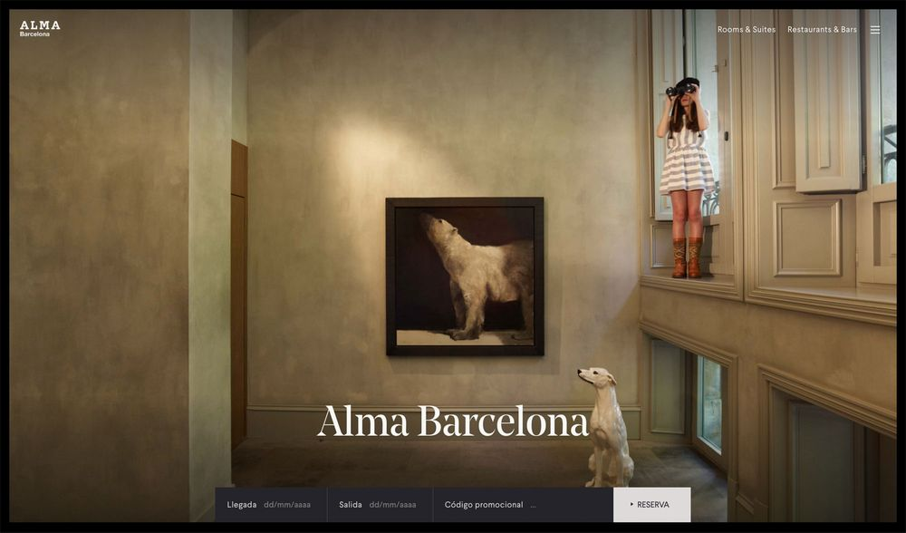 Alma Hotels Group (art direction, graphic design, identity, hotel, website), by DOMO-A | Art direction & graphic design, Barcelona