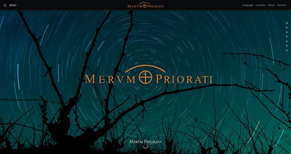 Merum Priorati (graphic design, food & beverage, winery, website), by DOMO-A | Art direction & graphic design, Barcelona